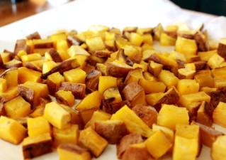 さつま芋チップスの作り方