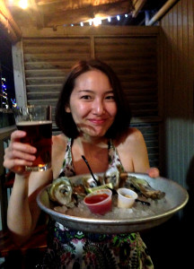 Half Shell Raw Bar Yumi