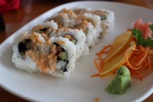Thai Cuisine Amazing California Rolls