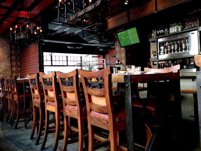 ワシントンDCの美味しいレストラン:Estadio DCのタパスが絶品-内観