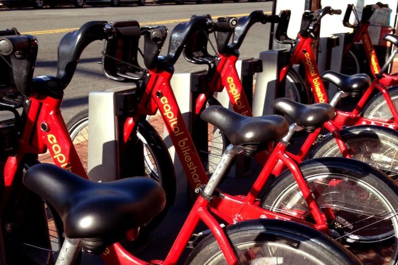 ワシントンDCの自転車、バイクシェア