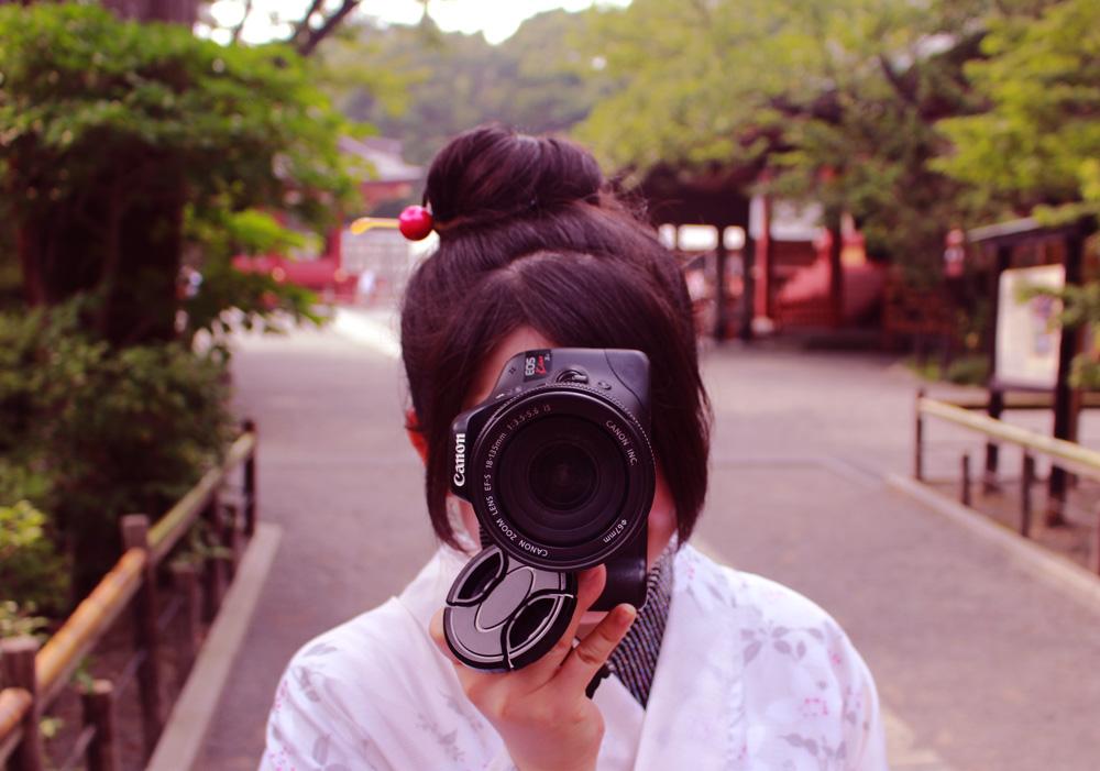 袴姿で鎌倉散歩-袴をレンタルして鎌倉散歩