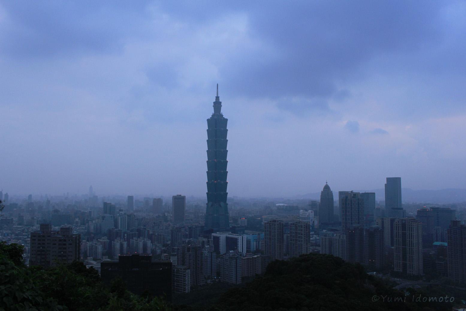 台北101-象山からの眺め-象山プチハイキング