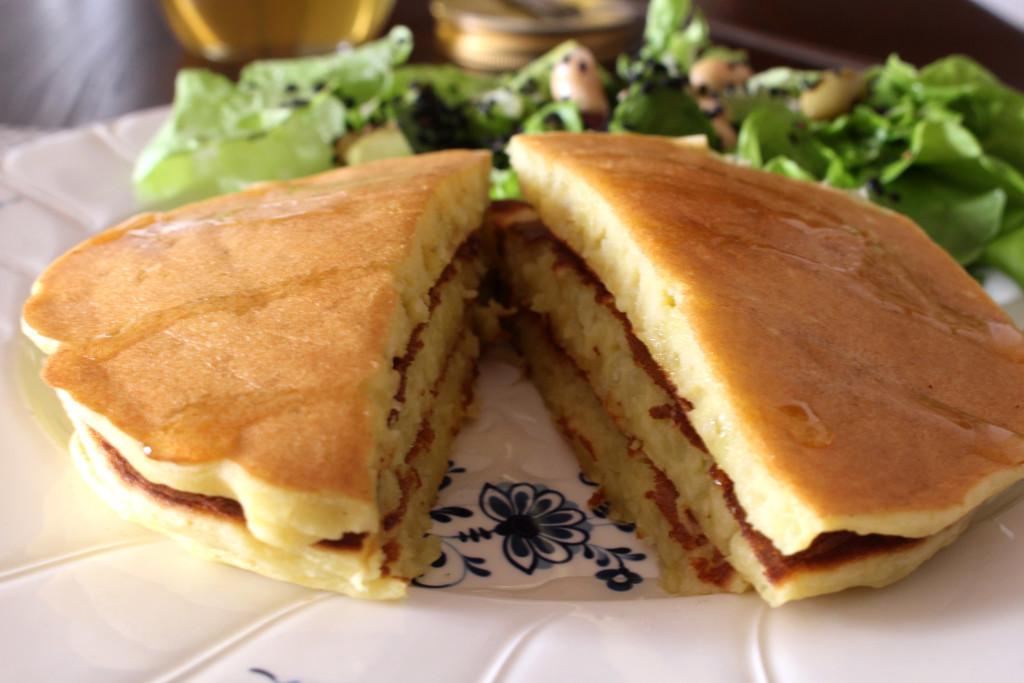さつまいもグルテンフリーパンケーキ