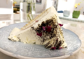 Sweetpea Cafe chiffon cake