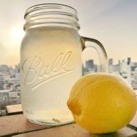 朝レモン水の習慣