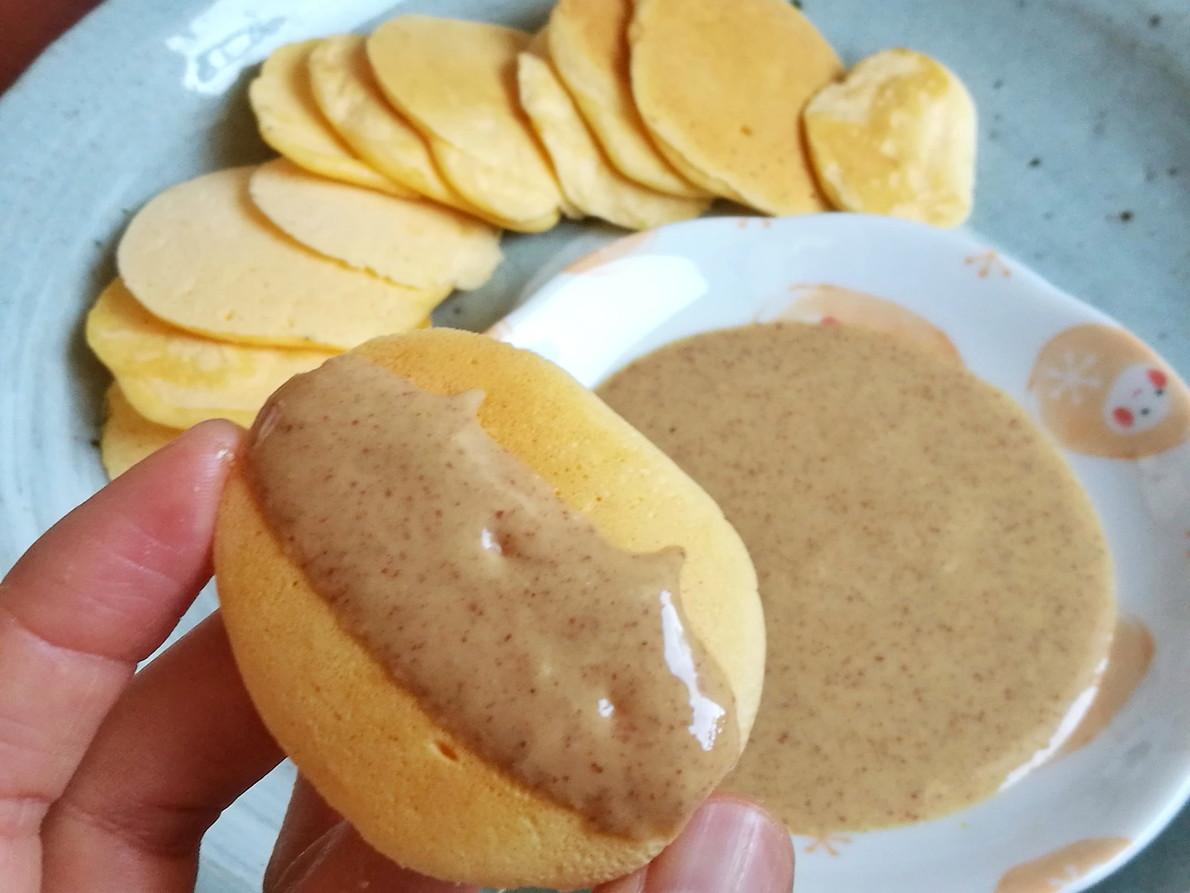 グルテンフリーのひとくち卵パンケーキ