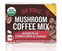 Cordiceps-Four Sigmatic, Mushroom Coffee Mix-マッシュルームコーヒー-コーディセップス(冬虫夏草)