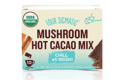 Cordiceps-Four Sigmatic, Mushroom Hot Cacao Mix-マッシュルームココア-レイシ