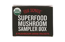 Cordiceps-Four Sigmatic, Mushroom Coffee Mix-マッシュルームコーヒー、ココア、エリクシール-サンプルボックス