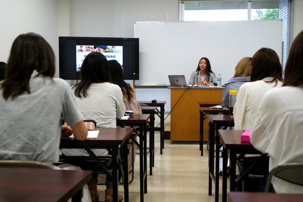 目白大学英米語学科の講義ーyumiid.com