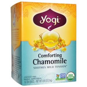 Yogi Tea-カモミール