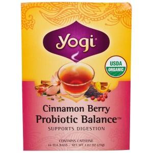 Yogi Tea-パイスプロバイオティクバランス