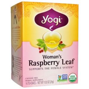 Yogi Tea-ラズベリーリーフ