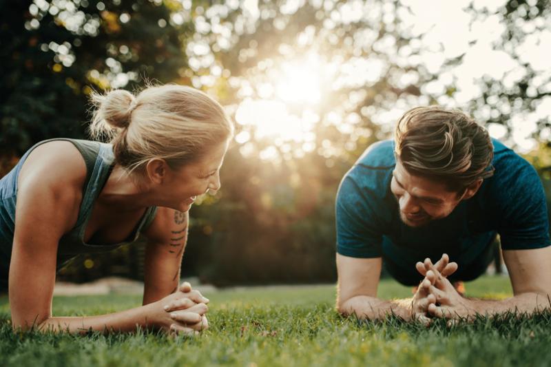 筋トレが男女関係に与えるメリット-お互い切磋琢磨できる