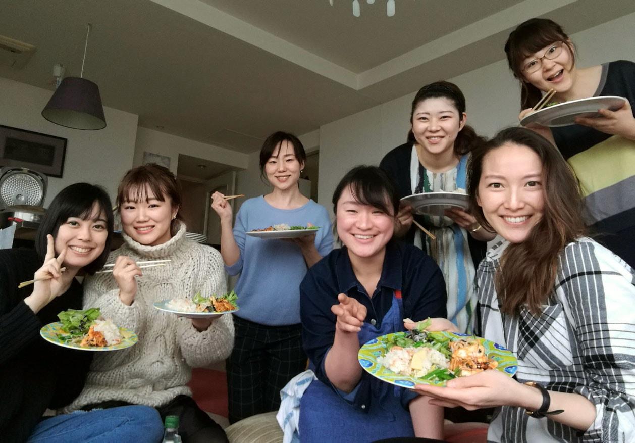 筋トレ料理教室 ~野菜をたっぷり食べようの会~-おつかれさまでした