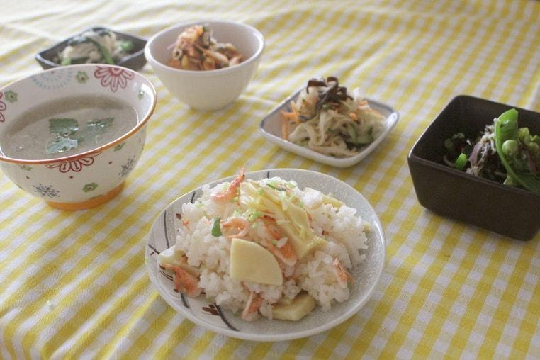 筋トレ料理教室 ~野菜をたっぷり食べようの会~-完成