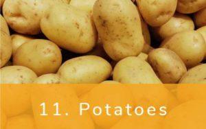 じゃがいも-Dirty Dozen(ダーティーダズン)-野菜って全て有機(オーガニック)がいいの?農薬の影響を受けやすい野菜と果物リスト