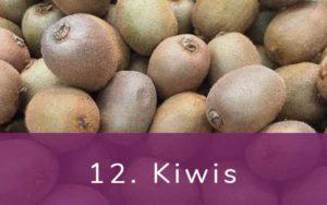 キーウィフルーツ-Clean Fifteen(クリーンフィフティーン)-野菜って全て有機(オーガニック)がいいの?農薬の影響を受けやすい野菜と果物リスト