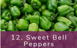 ピーマン-Dirty Dozen(ダーティーダズン)-野菜って全て有機(オーガニック)がいいの?農薬の影響を受けやすい野菜と果物リスト