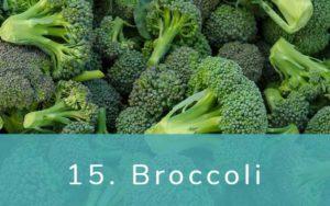 ブロッコリー-Clean Fifteen(クリーンフィフティーン)-野菜って全て有機(オーガニック)がいいの?農薬の影響を受けやすい野菜と果物リスト