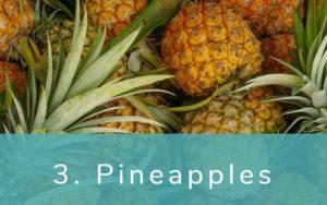 パイナップル-Clean Fifteen(クリーンフィフティーン)-野菜って全て有機(オーガニック)がいいの?農薬の影響を受けやすい野菜と果物リスト