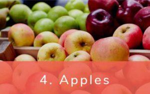 りんご-Dirty Dozen(ダーティーダズン)-野菜って全て有機(オーガニック)がいいの?農薬の影響を受けやすい野菜と果物リスト