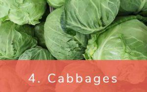 キャベツ-Clean Fifteen(クリーンフィフティーン)-野菜って全て有機(オーガニック)がいいの?農薬の影響を受けやすい野菜と果物リスト