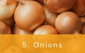 玉ねぎ-Clean Fifteen(クリーンフィフティーン)-野菜って全て有機(オーガニック)がいいの?農薬の影響を受けやすい野菜と果物リスト