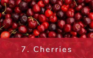 さくらんぼ-Dirty Dozen(ダーティーダズン)-野菜って全て有機(オーガニック)がいいの?農薬の影響を受けやすい野菜と果物リスト