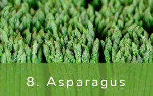 アスパラガス-Clean Fifteen(クリーンフィフティーン)-野菜って全て有機(オーガニック)がいいの?農薬の影響を受けやすい野菜と果物リスト