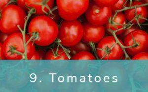 トマト-Dirty Dozen(ダーティーダズン)-野菜って全て有機(オーガニック)がいいの?農薬の影響を受けやすい野菜と果物リスト
