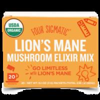 Lion's Mane(ライオンズメイン/ヤマブシタケ)-Four Sigmatic Mushroom Elixir Mixマッシュルームエリクサー