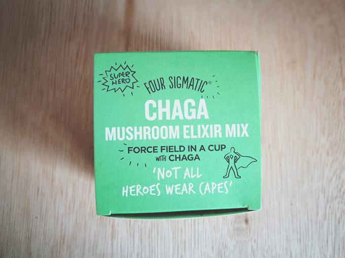 エナジードリンクよりこれ飲むべし!Four Sigmaticのマッシュルームエリクサー(Mushroom Elixir)-Chaga(チャーガ/カバノアナタケ)