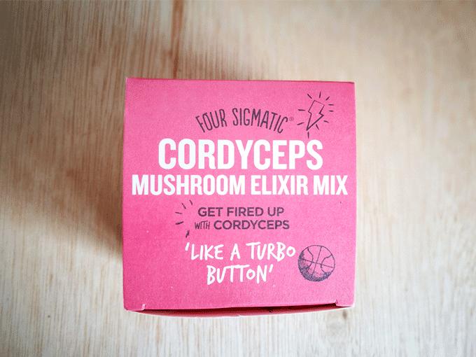 エナジードリンクよりこれ飲むべし!Four Sigmaticのマッシュルームエリクサー(Mushroom Elixir)-Cordyceps(コーディセップス/サナギタケ)