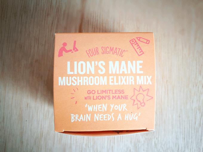 エナジードリンクよりこれ飲むべし!Four Sigmaticのマッシュルームエリクサー(Mushroom Elixir)-Lion's Mane(ライオンズメイン/ヤマブシタケ)