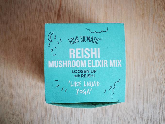 エナジードリンクよりこれ飲むべし!Four Sigmaticのマッシュルームエリクサー(Mushroom Elixir)-Reishi(レイシ/リーシ/霊芝)
