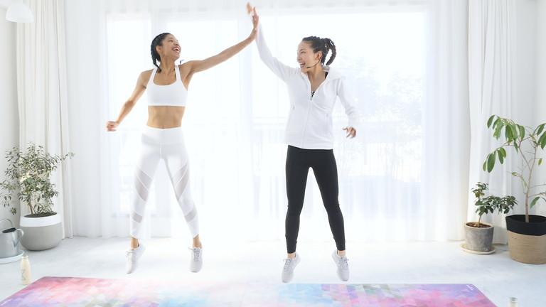自宅でフィットネスを楽しめるLean Bodyに出演させていただきました-ペアトレ-ペアトレーニング-yumiid.com
