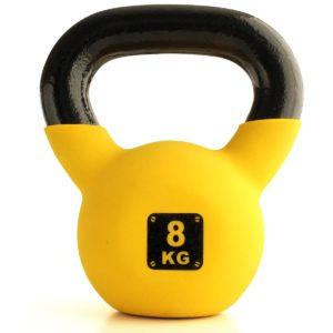 ケトルベル 4kg / 6kg / 8kg / 10kg / 12kg 【床を傷つけないソフトコーティング】【ベタつかず滑りにくい】 キャストアイアン製 体幹トレーニング 筋トレ