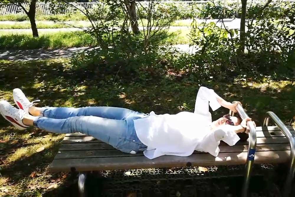ストレス軽減--筋トレをするなら自然の中で!グリーン・エクササイズが良いワケ~グリーンエクササイズのススメ