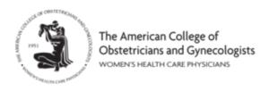 アメリカ産婦人科学会(ACOG)