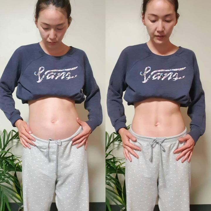 お腹を引っ込めた時とリラックスしている時 - 腹部膨満感って何?そのぽっこりお腹、実はただの脂肪じゃないのかも?