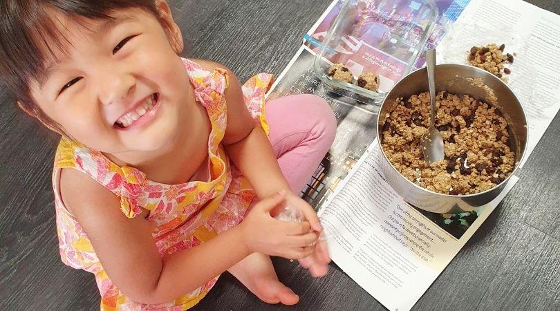 ねんど気分で子供と楽しめる!-子供と一緒に作れる!たんぱく質たっぷり焼かないクッキーのレシピ
